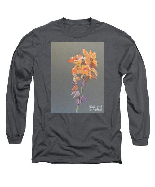 Canna Long Sleeve T-Shirt by Pamela  Meredith