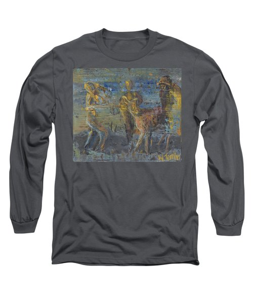 'can't Force A Mule' Long Sleeve T-Shirt