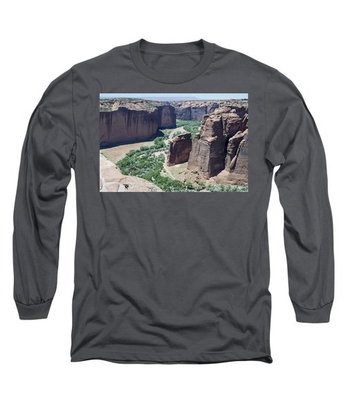 Canyon De Chelly View Long Sleeve T-Shirt