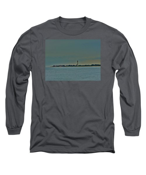 Cape May Point Long Sleeve T-Shirt by Ed Sweeney