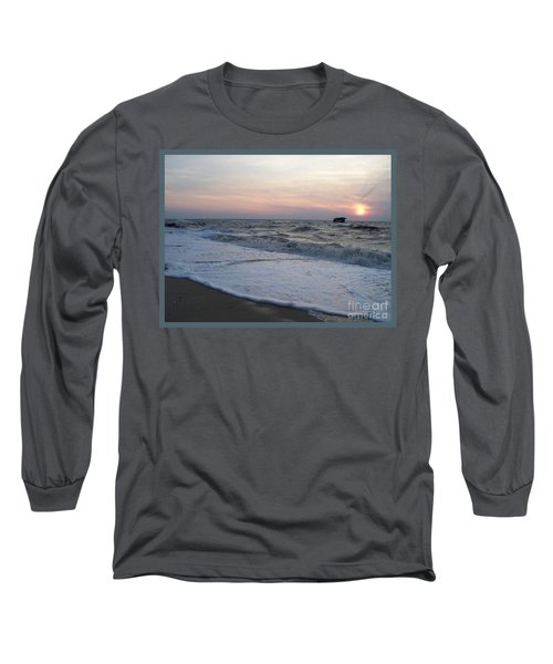 Cape May Sunset Beach Nj Long Sleeve T-Shirt