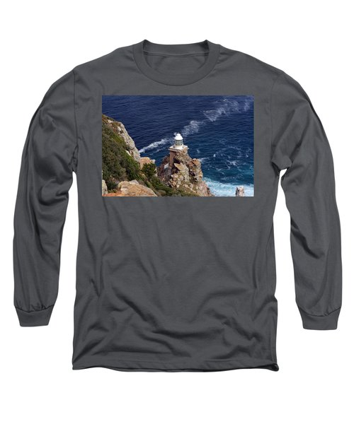 Cape Of Good Hope Lighthouse Long Sleeve T-Shirt