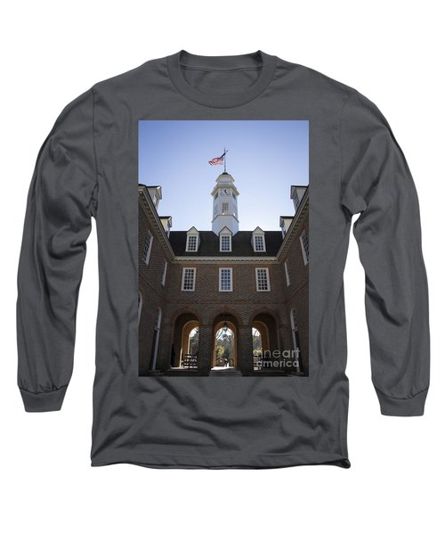 Capitol Arch Rear View Long Sleeve T-Shirt