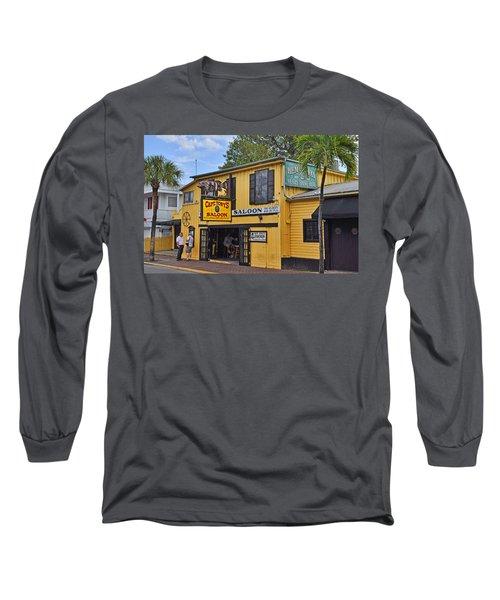 Captain Tony's Saloon Long Sleeve T-Shirt