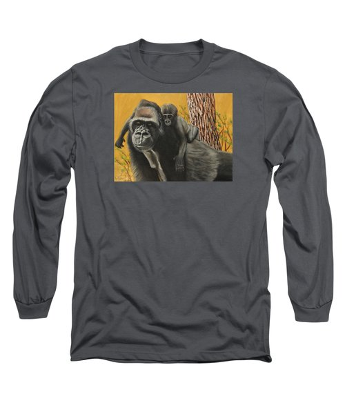 Captured Bernigie Long Sleeve T-Shirt by Jeanne Fischer