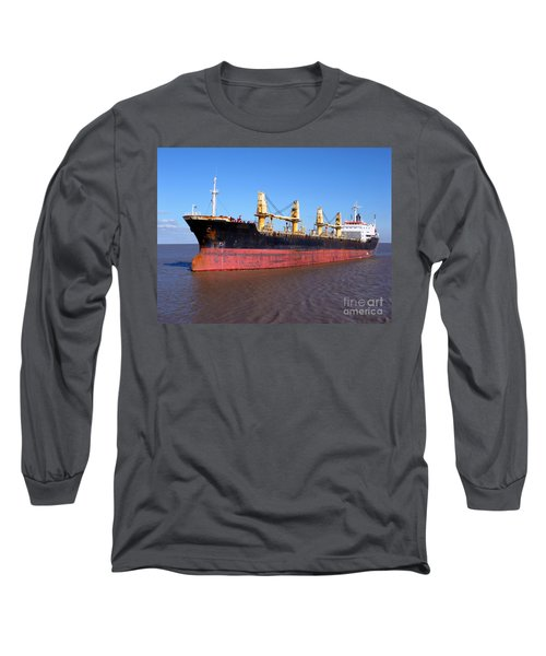 Cargo Ship Long Sleeve T-Shirt
