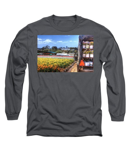 Carlsbad Flower Fields Long Sleeve T-Shirt