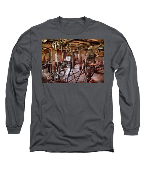 Carpenter - This Old Shop Long Sleeve T-Shirt