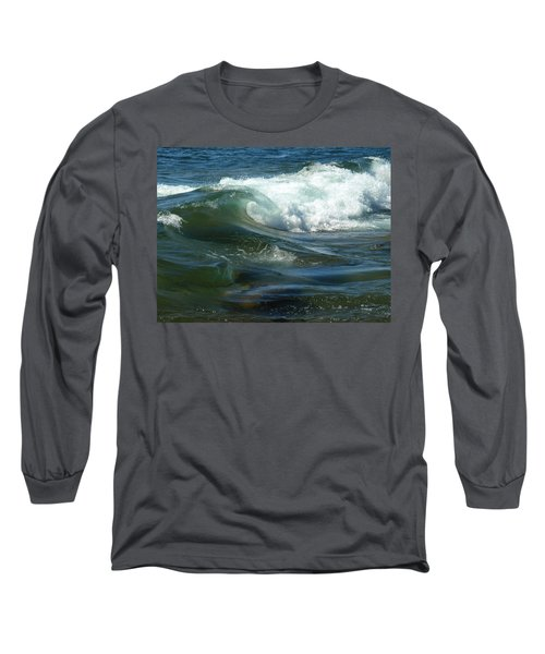 Cascade Wave Long Sleeve T-Shirt