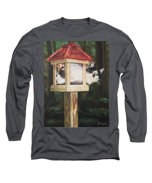 Cat House Long Sleeve T-Shirt