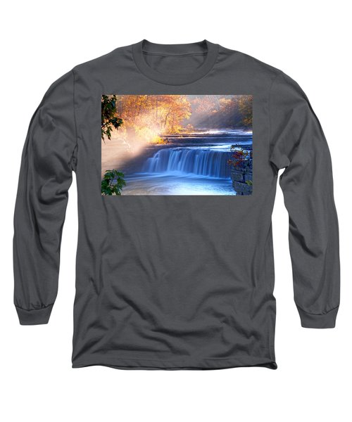 Cataract Falls Indiana Long Sleeve T-Shirt