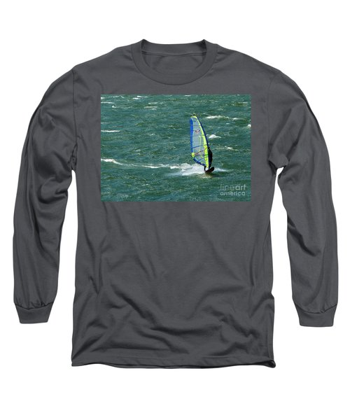 Catching Wind And Surf Long Sleeve T-Shirt