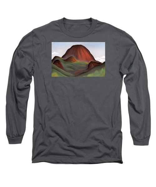 Cathedral Rock Warrumbungle National Park Nsw Long Sleeve T-Shirt