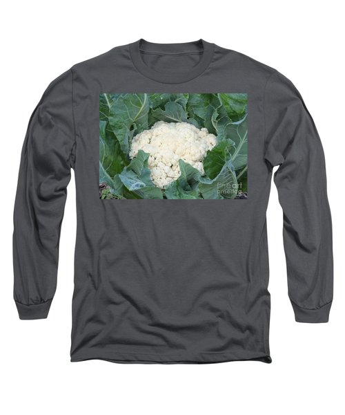 Cauliflower Long Sleeve T-Shirt by Carol Groenen