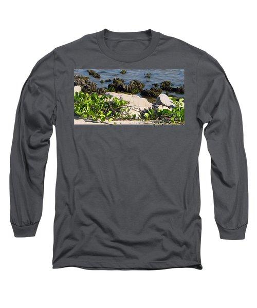 Causeway Shore Blues Long Sleeve T-Shirt