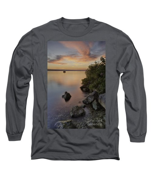 Cayuga Sunset I Long Sleeve T-Shirt