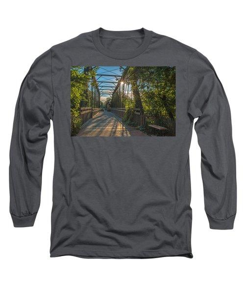 Cedarburg Footbridge Long Sleeve T-Shirt