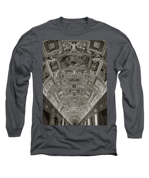 Ceiling Of Hall Of Maps Long Sleeve T-Shirt