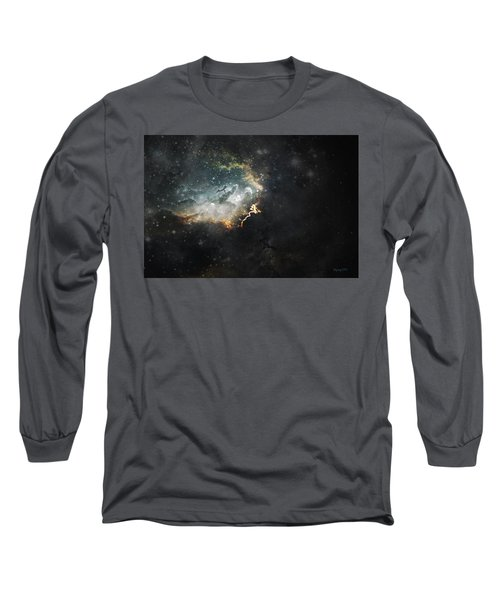 Celestial Long Sleeve T-Shirt by Cynthia Lassiter
