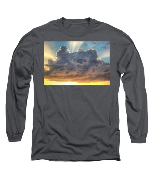 Celestial Rays Long Sleeve T-Shirt by Shelley Neff