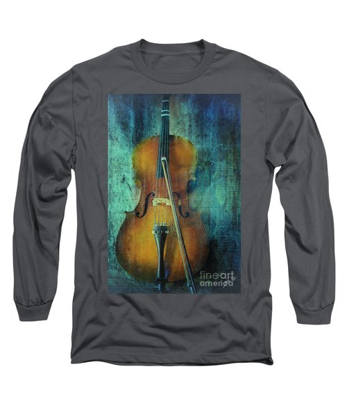 Cello  Long Sleeve T-Shirt by Erika Weber