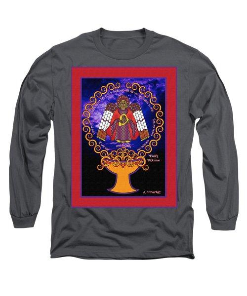 Celtic Angel Rising Long Sleeve T-Shirt