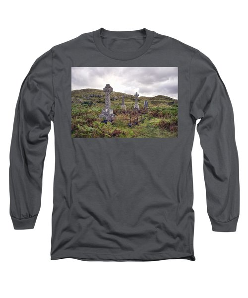 Long Sleeve T-Shirt featuring the photograph Celtic Cemetary by Hugh Smith