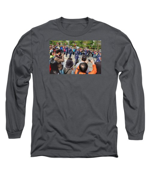 Changing Of The Guard Long Sleeve T-Shirt