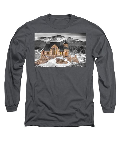 Chapel On The Rock Bwsc Long Sleeve T-Shirt