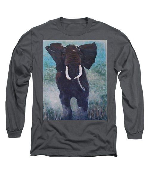 Charge Long Sleeve T-Shirt by Catherine Swerediuk