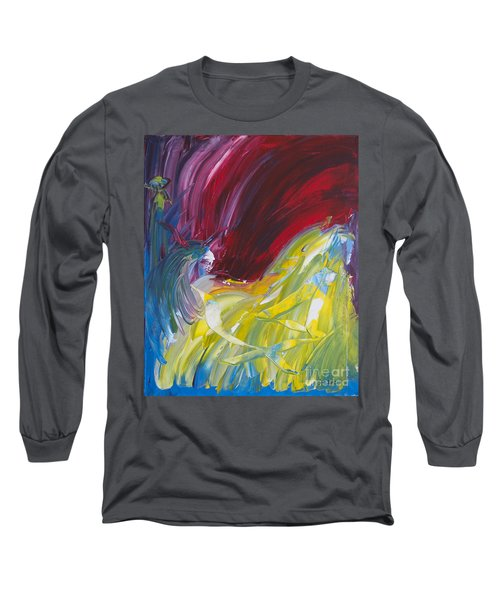 Chariot Through Hell Long Sleeve T-Shirt