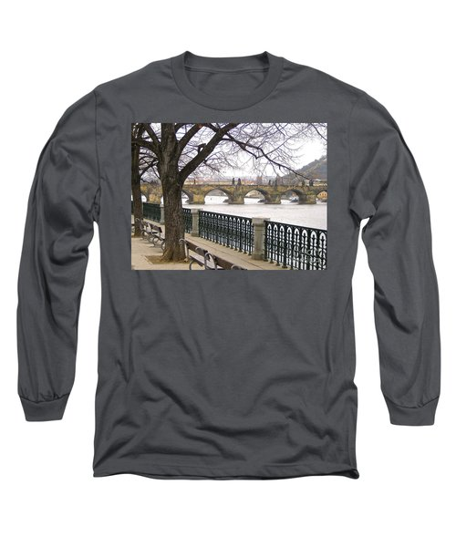 Charles Bridge  Long Sleeve T-Shirt