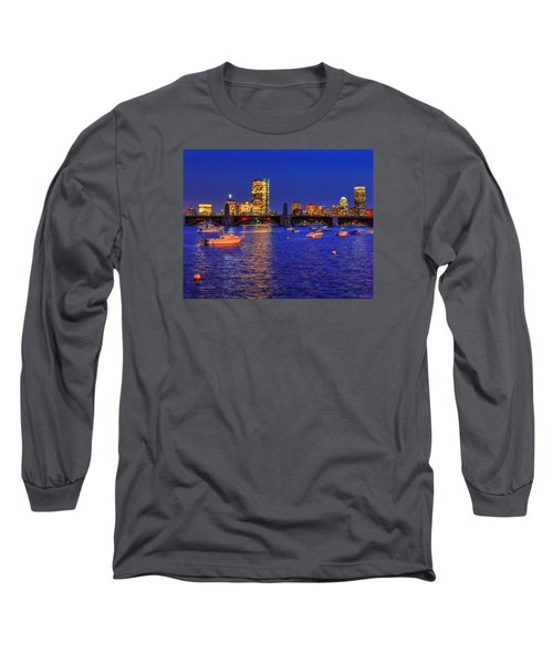Charles River Basin 013 Long Sleeve T-Shirt