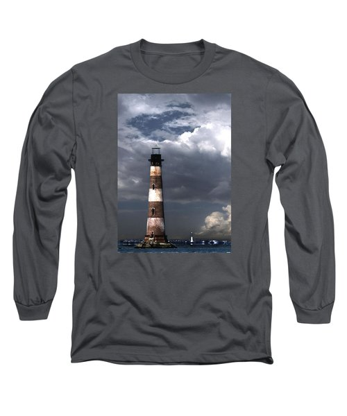 Charleston Lights Long Sleeve T-Shirt by Skip Willits