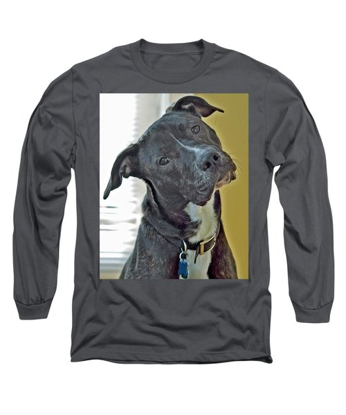 Long Sleeve T-Shirt featuring the photograph Charlie by Lisa Phillips