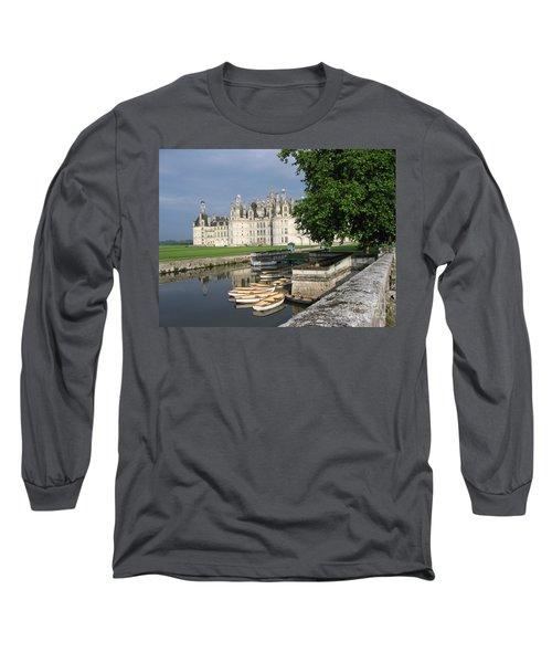 Chateau Chambord Boating Long Sleeve T-Shirt