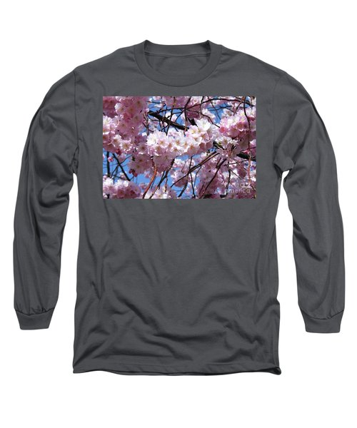 Cherry Blossom Trees Of Branch Brook Park 3 Long Sleeve T-Shirt