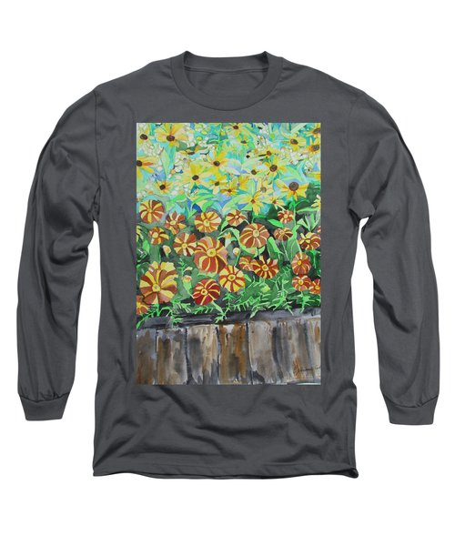 Childlike Flowers Long Sleeve T-Shirt