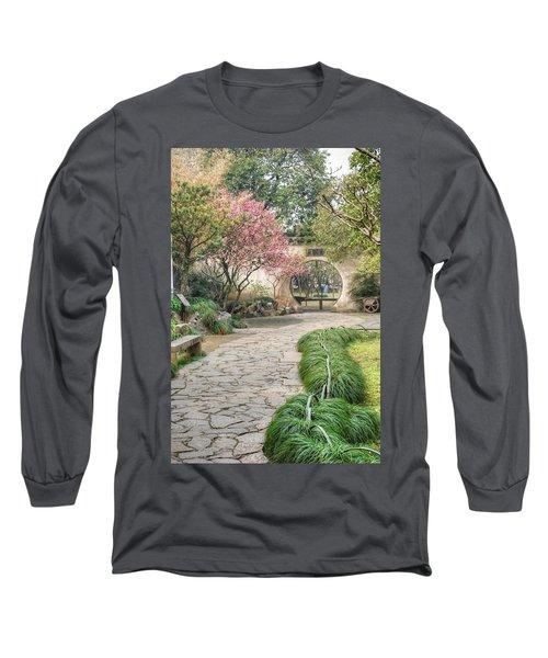 China Courtyard Long Sleeve T-Shirt