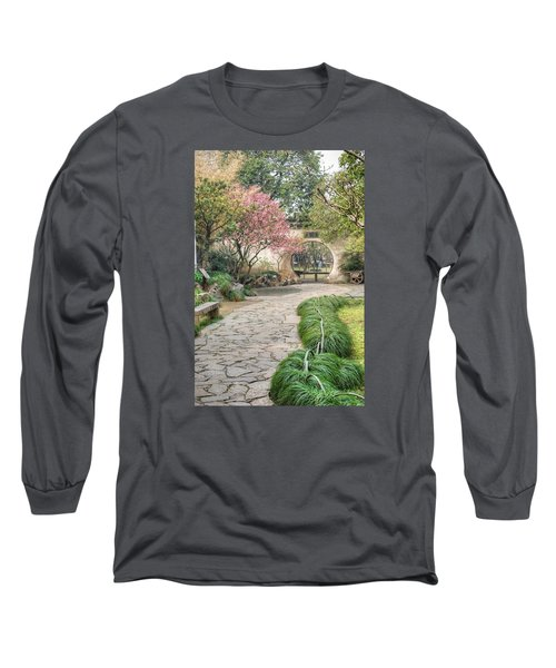 China Courtyard Long Sleeve T-Shirt