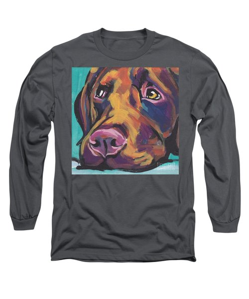 Choco Lab Love Long Sleeve T-Shirt