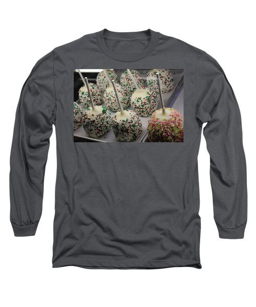 Christmas Candy Apples Long Sleeve T-Shirt by Bill Owen