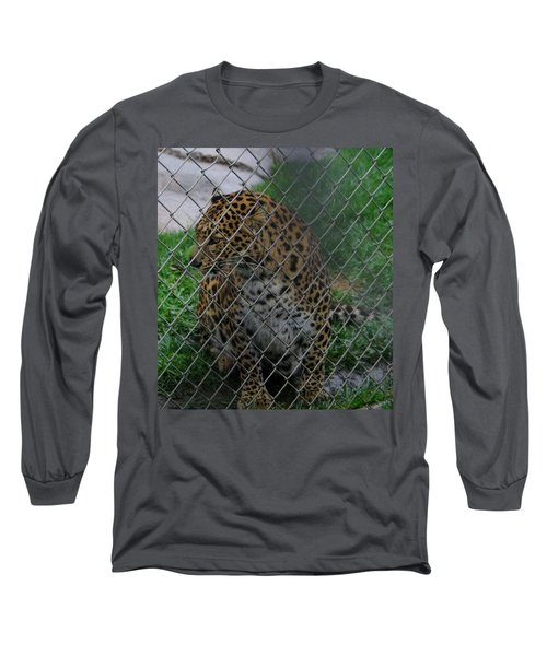 Christmas Leopard I Long Sleeve T-Shirt