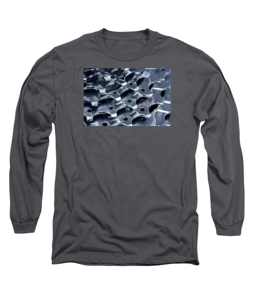 Chromed Shiny Gear Shift Long Sleeve T-Shirt