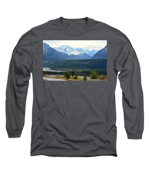 Chugach Mountains Long Sleeve T-Shirt