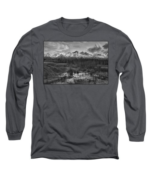 Chugach Mtn Range Long Sleeve T-Shirt