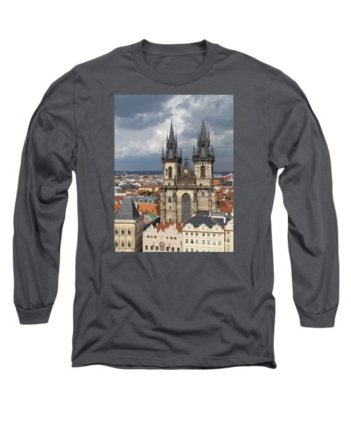Church Of Our Lady Before Tyn - Prague Long Sleeve T-Shirt
