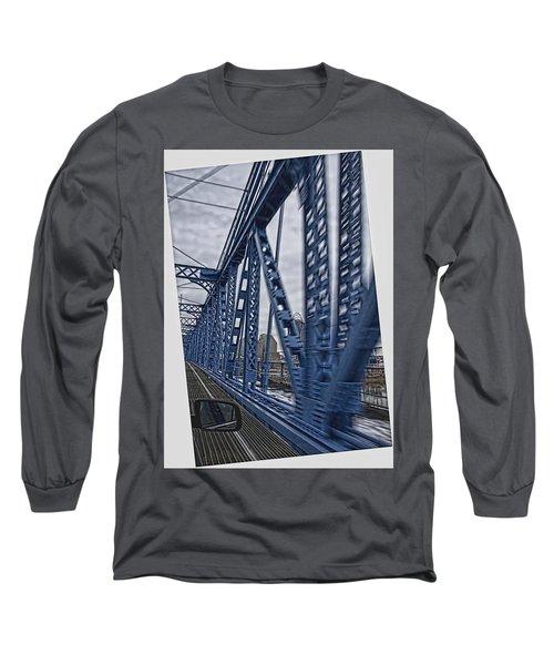 Cincinnati Bridge Long Sleeve T-Shirt