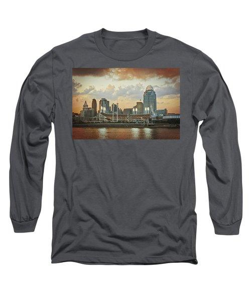 Cincinnati Ohio Vii Long Sleeve T-Shirt