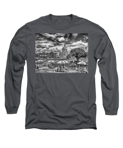 Long Sleeve T-Shirt featuring the photograph Cinderella's Palace by Howard Salmon